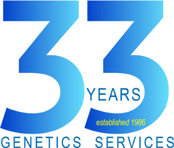 Celebrating over 33 years of genetics services.